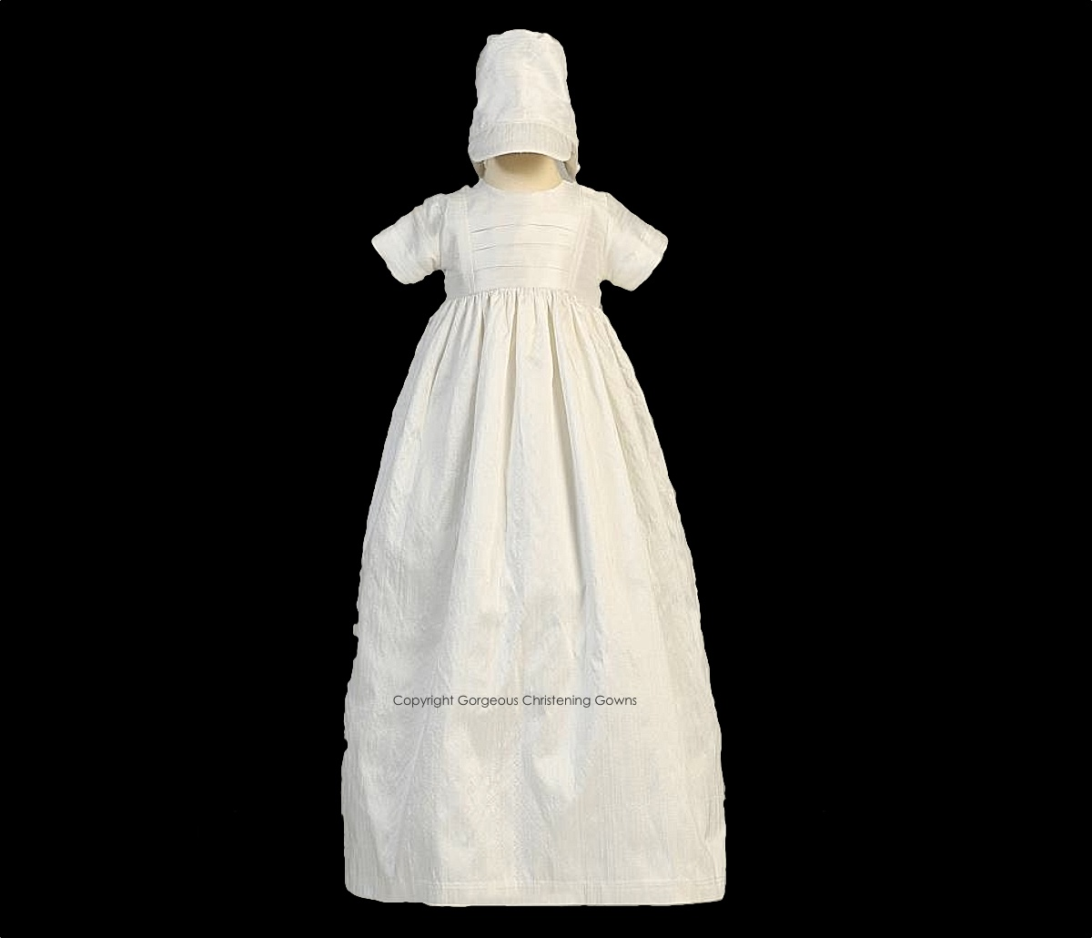 UNISEX CHRISTENING GOWNS - BOYS BONNET